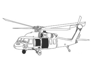 Военная техника картинки раскраски (9)