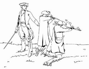 Военные солдаты картинки раскраски (11)
