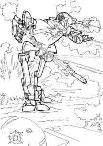 Война картинки раскраски (12)