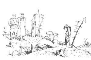Война картинки раскраски (14)