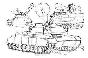 Война картинки раскраски (15)