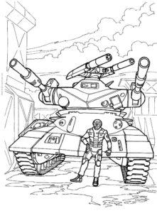 Война картинки раскраски (20)