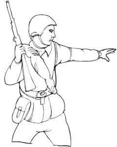 Война картинки раскраски (23)
