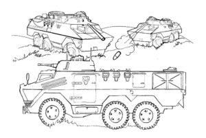 Война картинки раскраски (24)