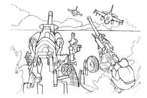 Война картинки раскраски (27)