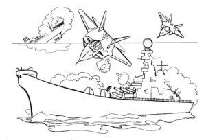 Война картинки раскраски (32)