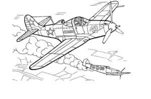 Война картинки раскраски (46)