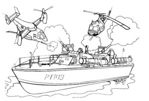 Война картинки раскраски (6)
