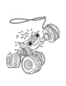 -и-чудо-машинки-картинки-раскраски-21-233x300 Вспыш и чудо машинки