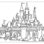 Замок картинки раскраски (15)