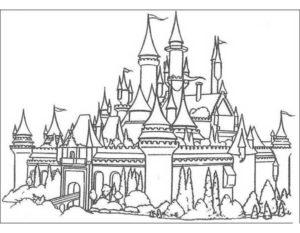 -картинки-раскраски-15-300x233 Замок