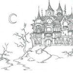 Замок картинки раскраски (16)