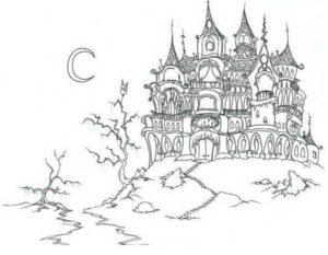 -картинки-раскраски-16-300x233 Замок