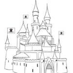 Замок картинки раскраски (22)