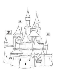 -картинки-раскраски-22-233x300 Замок