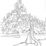 Замок картинки раскраски (23)
