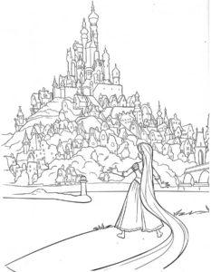 -картинки-раскраски-23-233x300 Замок