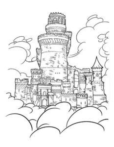 -картинки-раскраски-24-233x300 Замок