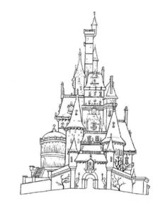 -картинки-раскраски-26-233x300 Замок