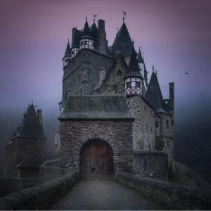 Замок раскраски