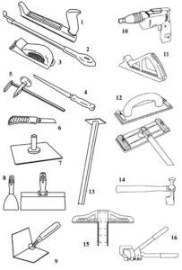 Инструменты картинки раскраски (11)