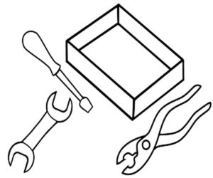 Инструменты картинки раскраски (24)