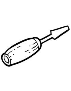 Инструменты картинки раскраски (7)