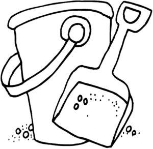 Инструменты лопата картинки раскраски (11)