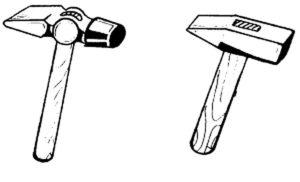 Инструменты молоток картинки раскраски (9)