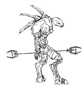 Лего бионикл картинки раскраски (16)