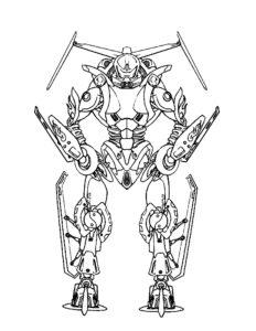 Лего бионикл картинки раскраски (2)