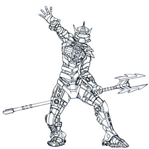 Лего бионикл картинки раскраски (3)