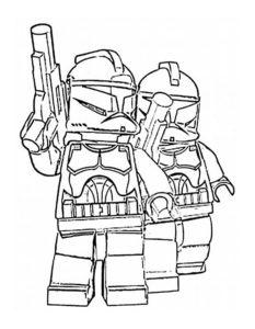 Лего звездные войны картинки раскраски (1)