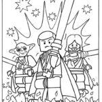 Лего звездные войны картинки раскраски (13)