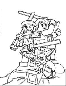 Лего звездные войны картинки раскраски (14)