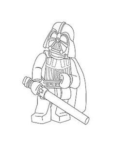 Лего звездные войны картинки раскраски (16)