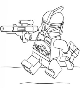 Лего звездные войны картинки раскраски (18)