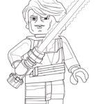 Лего звездные войны картинки раскраски (2)