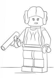 Лего звездные войны картинки раскраски (20)