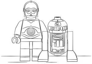 Лего звездные войны картинки раскраски (21)