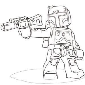 Лего звездные войны картинки раскраски (3)