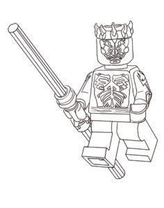 Лего звездные войны картинки раскраски (6)