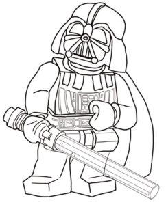 Лего звездные войны картинки раскраски (7)