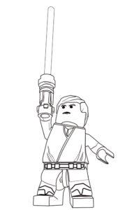 Лего звездные войны картинки раскраски (8)