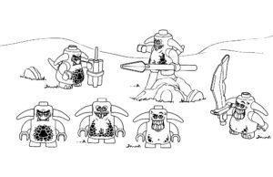 Лего нексо найц картинки раскраски (1)