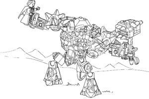 Лего нексо найц картинки раскраски (10)