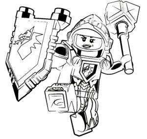 Лего нексо найц картинки раскраски (11)
