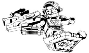 Лего нексо найц картинки раскраски (15)