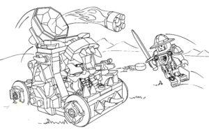 Лего нексо найц картинки раскраски (16)