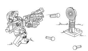 Лего нексо найц картинки раскраски (2)